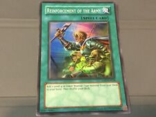 Yugioh Reinforcement Of The Army Holo!! LOD-EN028 Rare Hard To Find!