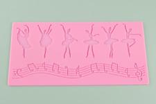 Ballerina Silicone Cake Lace Mat