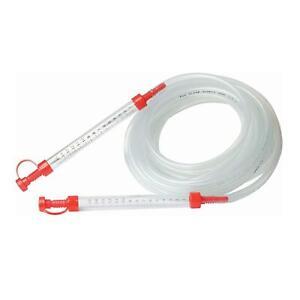 """10 Metre Water Level Kit Gauge Distance Spirit Level Tubes Pvc 3/8"""" Dia Hose"""
