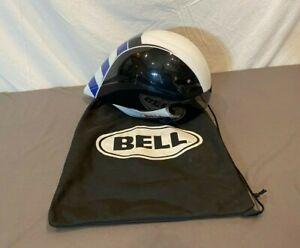Bell Javelin Lightweight Time Trial Cycling Bike Helmet w/Eye Shield & Bag Med