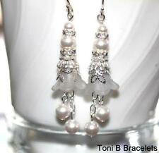 Pearl Silver Plated Handcrafted Earrings