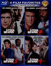 Lethal Weapon Collection 1 2 3 4 (Blu Ray)  #3 is a DVD