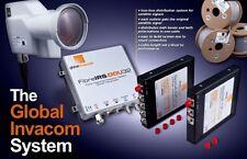 Global Invacom 2 Way Fibre Optic Splitter - Split2-OFpro for FC/PC Cable