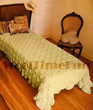 Vintage Crochet Pattern Bedspread/Afghan/Blanket. Bobble Stitch 124 x 215 cm