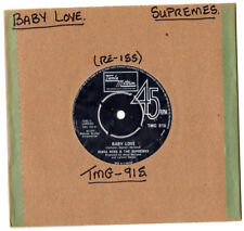 "Motown. Supremes. Baby Love/preguntar cualquier chica. Reino Unido re-ISS 7"".EX -"