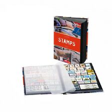 Stockbook STAMPS A5 Leuchtturm 361244 Stamp Collection Album with Black Pages