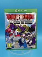 jeu video microsoft xbox one transformers devastation