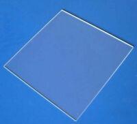 1pcs Double Sided Polishing JGS1 Fused Silica Quartz Glass Sheet 50*50*1mm