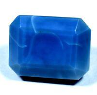52.5 Ct Natural Australian Blue Opal Certified Museum Grade Facet Loose Gemstone