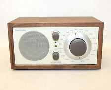TIVOLI AUDIO BY HENRI KLOSS Model One AM/FM Wood Cabinet Table Top Radio