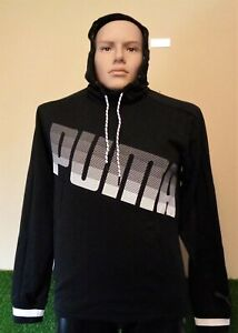 PUMA DRYCELL COLLECTIVE KNITTED MEN'S HOODIE JUMPER SMALL BRAND NEW