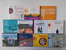 11x Hörbuch Sammlung - Ein Bild von dir, JoJo / Dickes Fell / Angst vorm Sterben