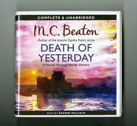 Death of Yesterday - M.C. Beaton - Audiobook - 6CDs