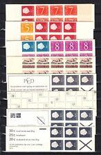 Nederland VERZENDKOSTEN 3 EURO Postzegelboekjes 1, 2, 4, 5, 6a, 6e met telblok