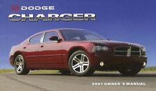 2007 Dodge Charger Owner Manual User Guide Reference Operator Book Fuses Fluids