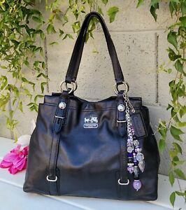 Coach Mia soft leather Carryall 15409 Camel Handbag Purse shoulder bag tote