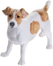 John Beswick Jack Russell dog figure brown & white ceramic ornament JBD102