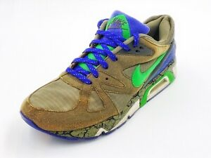 Nike Air Structure Triax 91 Cracked Earth – Olive/Hyper Verde