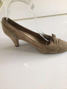AVANTI! Made in Spain Grey Suede court shoes  Size UK4/EU37
