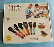 New listing 6-Piece Set Heat-resistant Non Stick Nylon Elevated Kitchen Utensils Brand New