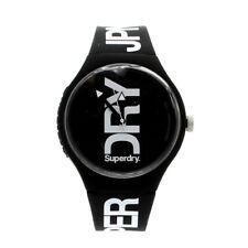 Superdry Black Urban Watch SYG189BW