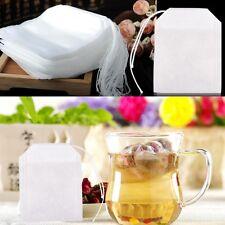 """2""""x2.75"""" 100 Sachet à Thé Vide Sac Filtre Infuseur Passoire Non-tissé Tea bag"""