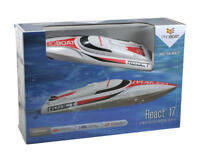 Pro Boat ProBoat React 17 Inch Self Righting Deep V Brushed RTR RC Boat PRB08024