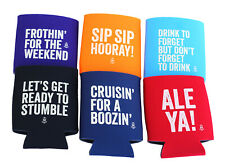 Funny 6 Pack Stubby Holder/ Beer Coolie/ Soft Insulated Sleeve