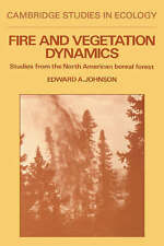 Fire and Vegetation Dynamics: Studies from the North American Boreal-ExLibrary