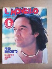 IL MONELLO n°39 1978 Fred Bongusto Inserto Amanda Lear Agostina Belli  [G433]
