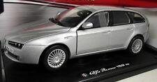 Motormax 1/18 Scale 79166S Alfa Romeo 159 Sport Wagon Silver Diecast model car