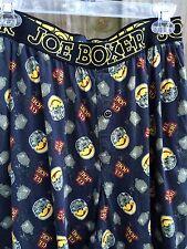 Joe Boxer G.I. Joe Collector Men's Medium Sleep Lounge Pants Button Fly Stretch