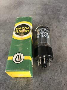 GZ34 Mazda Cifte Mullard Blackburn factory code N.O.S Tube