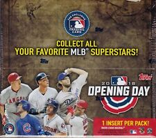 2018 Topps Opening Day Baseball sealed box 36 packs of 7 MLB cards