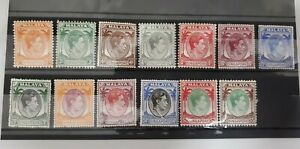 1948 Malaya Singapore KGVI loose set MINT Hinge  CV RM 850++