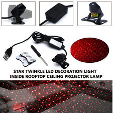 Car Room USB Star Twinkle LED Decoration Light Inside Rooftop Ceiling Projector