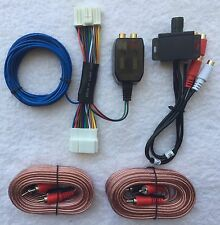 Honda Acura Factory Radio Add A Sub Amp Plug & Play Wire Harness + Bass Knob