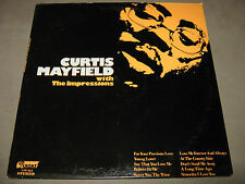 CURTIS MAYFIELD with The Impressions ORIGINAL SEALED LP UPF-164 NoCut