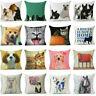 "18""*18"" Cartoon Animal Pillowcase Throw Sofa Car Waist Cushion Cover Home Decor"
