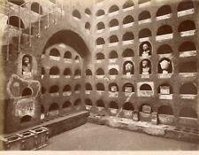 Anderson, Italie, Rome, Roma, colombario nella vigna Codini  Vintage albumen pri