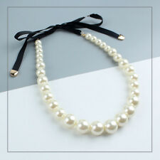 New Forever21 Faux Pearl Collar Necklace Gift Fashion Lady Party Holiday Jewelry