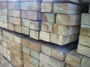 47MM X 75MM TREATED SOFTWOOD JOISTS (3X2) SOLD PER LENGTH