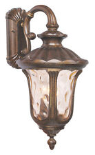Moroccan Gold Exterior Livex Lighting Oxford Light Outdoor Wall Lantern 7657-50