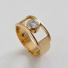 Diamantring - Solitär Ring - Gold 750 - Unikat - Erbstück