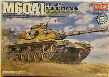 Academy 1/48 Model Kit M60A1 US Army Main Battle Tank Military Armor 13009 NOS