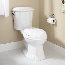 Regent Dual-Flush Water Closet (Round Bowl Toilet / Chrome Flush Button on Left