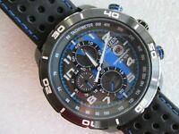 CITIZEN Eco-Drive PRIMO CA0467-03E Chronograph WR100 Blue Mens Wrist Watch
