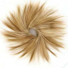 chouchou chignon cheveux blond cuivré méché blond clair ref: 21 en f27613
