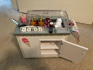 American Girl Truly Me Ice Cream Cart