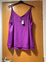 Ladies strappy top Size 22